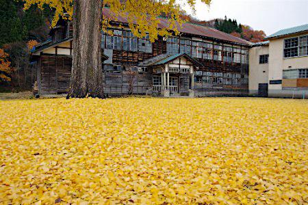 昭和村 廃校