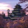 日本の桜100選と古城とサムライからの伝言