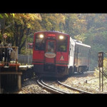 立秋は会津下郷町へ、塔のへつりとサスペンスドラマの登場人物のように